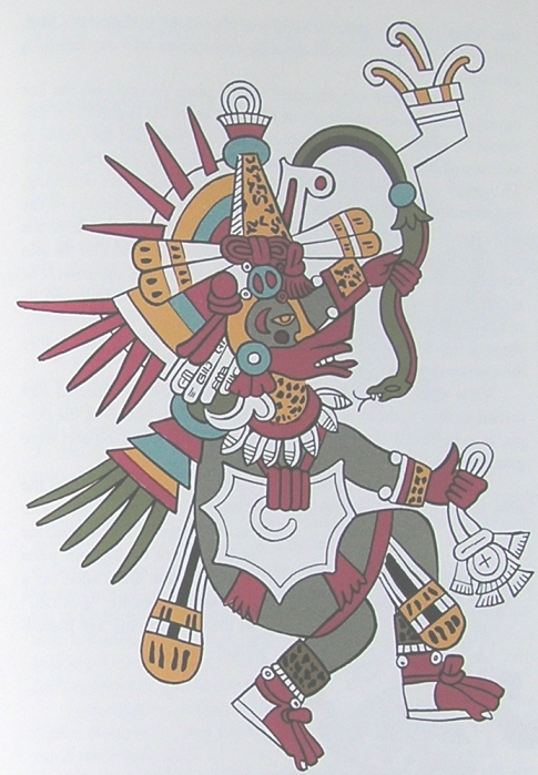 Quetzalcoatl, the one of the main gods