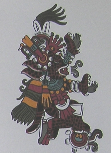 Tepeyolohtli, god of the mountains